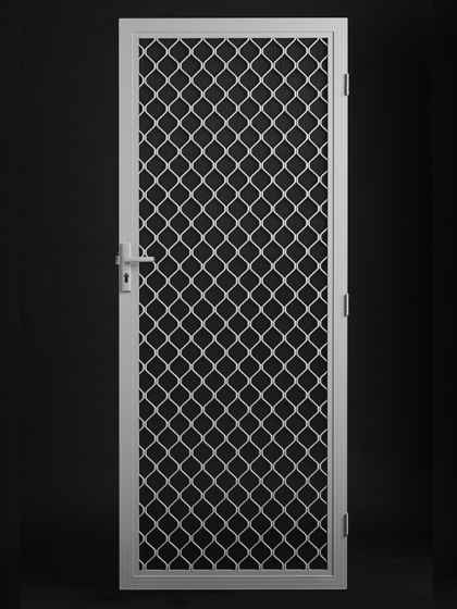 Diamond Grill Barrier Door : pakenham doors - Pezcame.Com