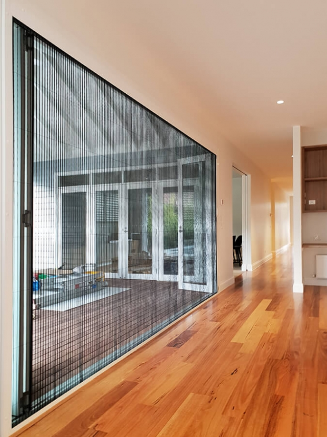 Retractable Fly Screens Amp Doors Melbourne Concertina Fly